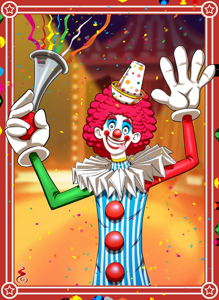 Clown by Holyengine