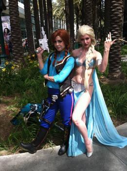 Frozen Star Wars girls