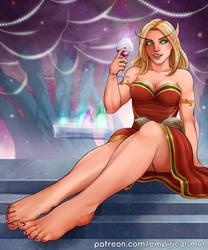 Blood elf girl