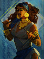 Isabela Dragon Age by Granks