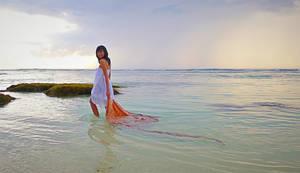 batik on the beach