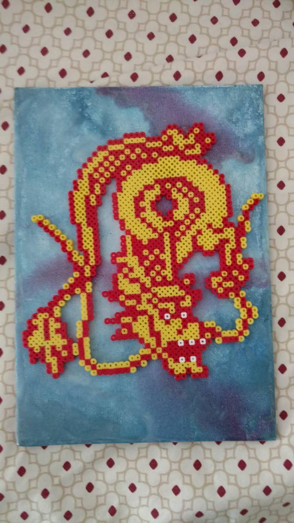 Chinese Dragon by manicperlerbeads