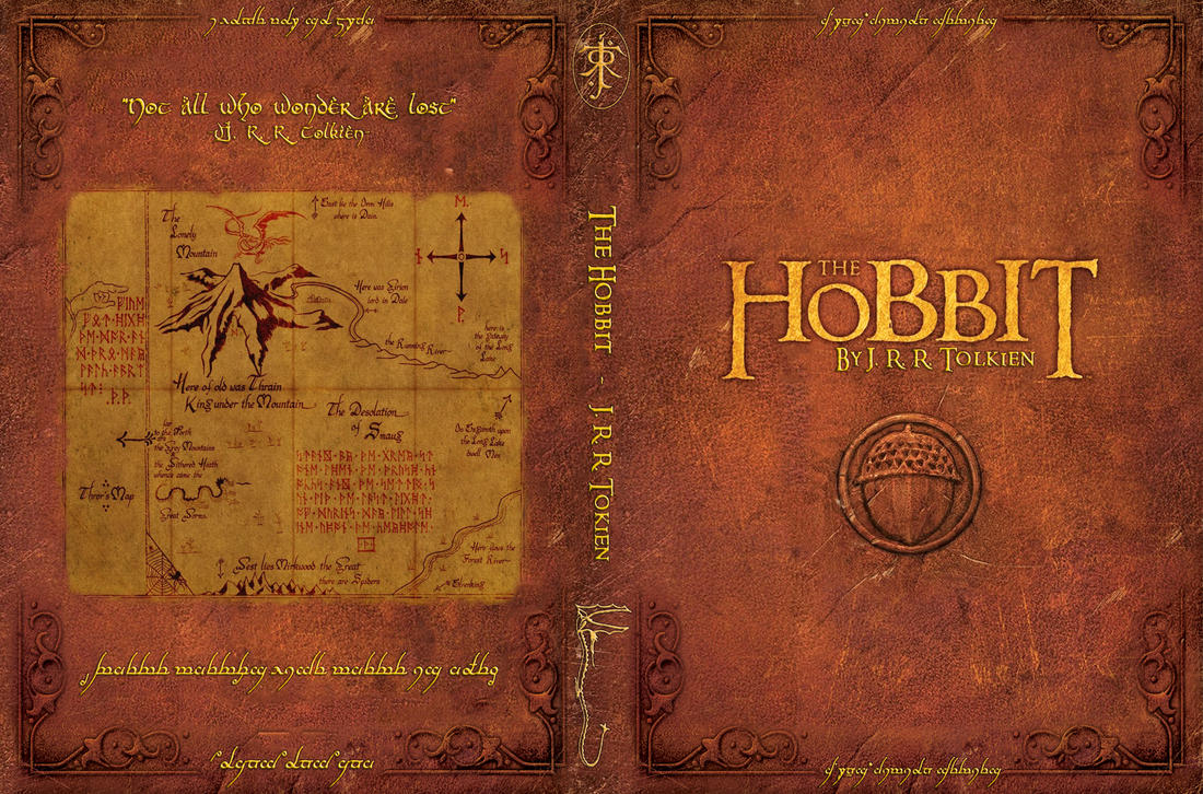 Hobbit Book Cover Art ~ The hobbit book cover by trongtuan on deviantart