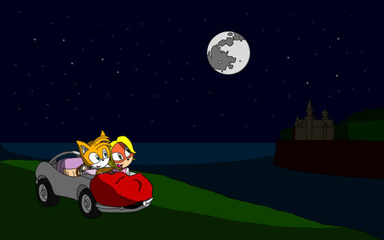 Tails x Coco [Tailsco] - Moon Over the Castle