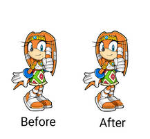 Tikal Before and After