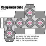 paper companion cube