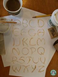 Coffee Alphabet