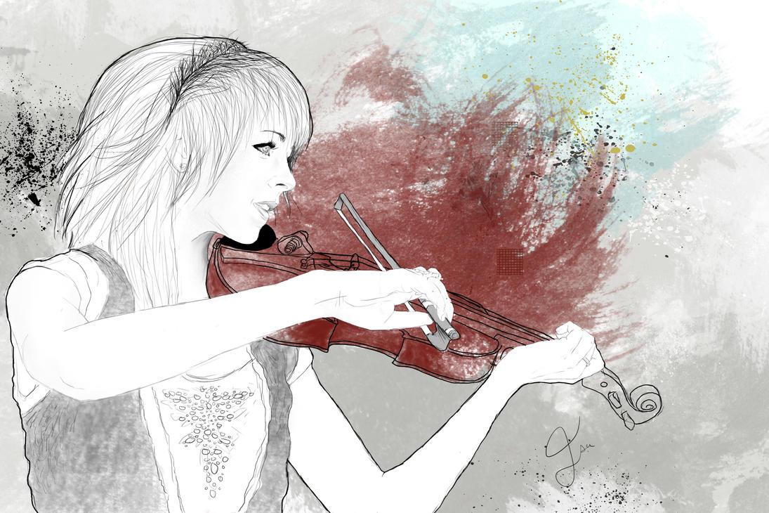 Lindsey Stirling by Isacrea