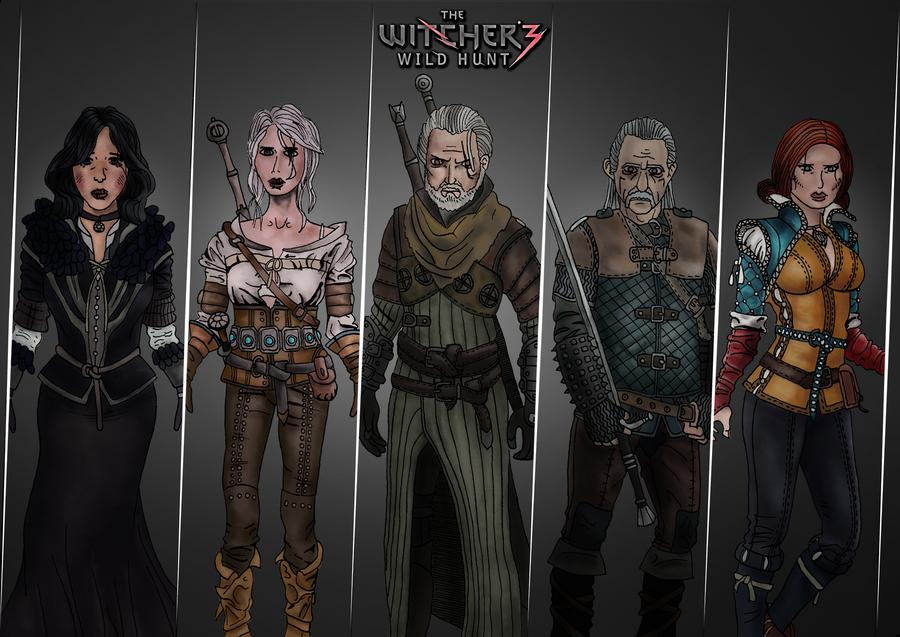 Witcher 3 Fan Art By Dopeo On DeviantArt