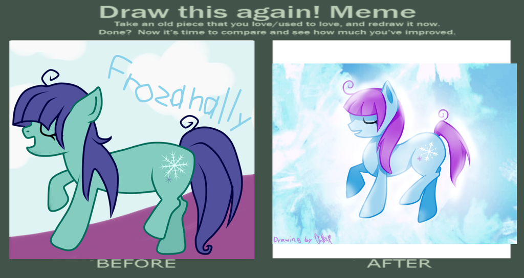 Another Draw this again meme pic. by Encentix