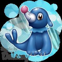 Team Popplio! by Daleeny