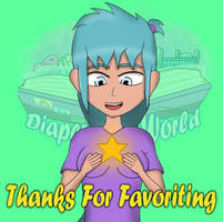DTW TY For Favoriting by DiaperToonWorld