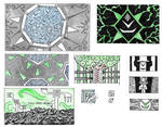 Trilogy Background Sketches