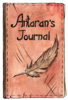Antaran's Journal Cover by Djigallag