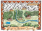 Antaran's Lournal Adventure Map