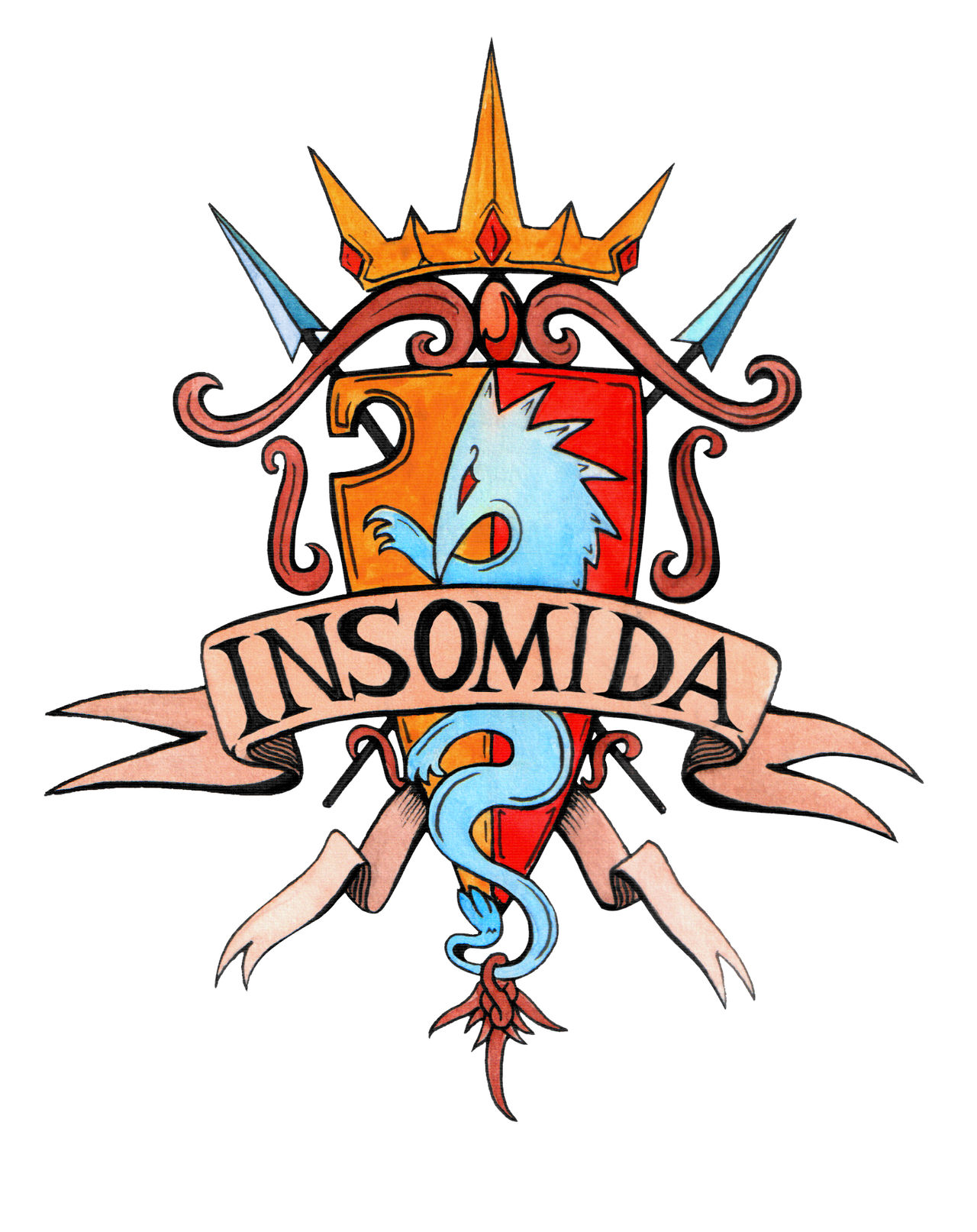 Insomida Crest by Djigallag