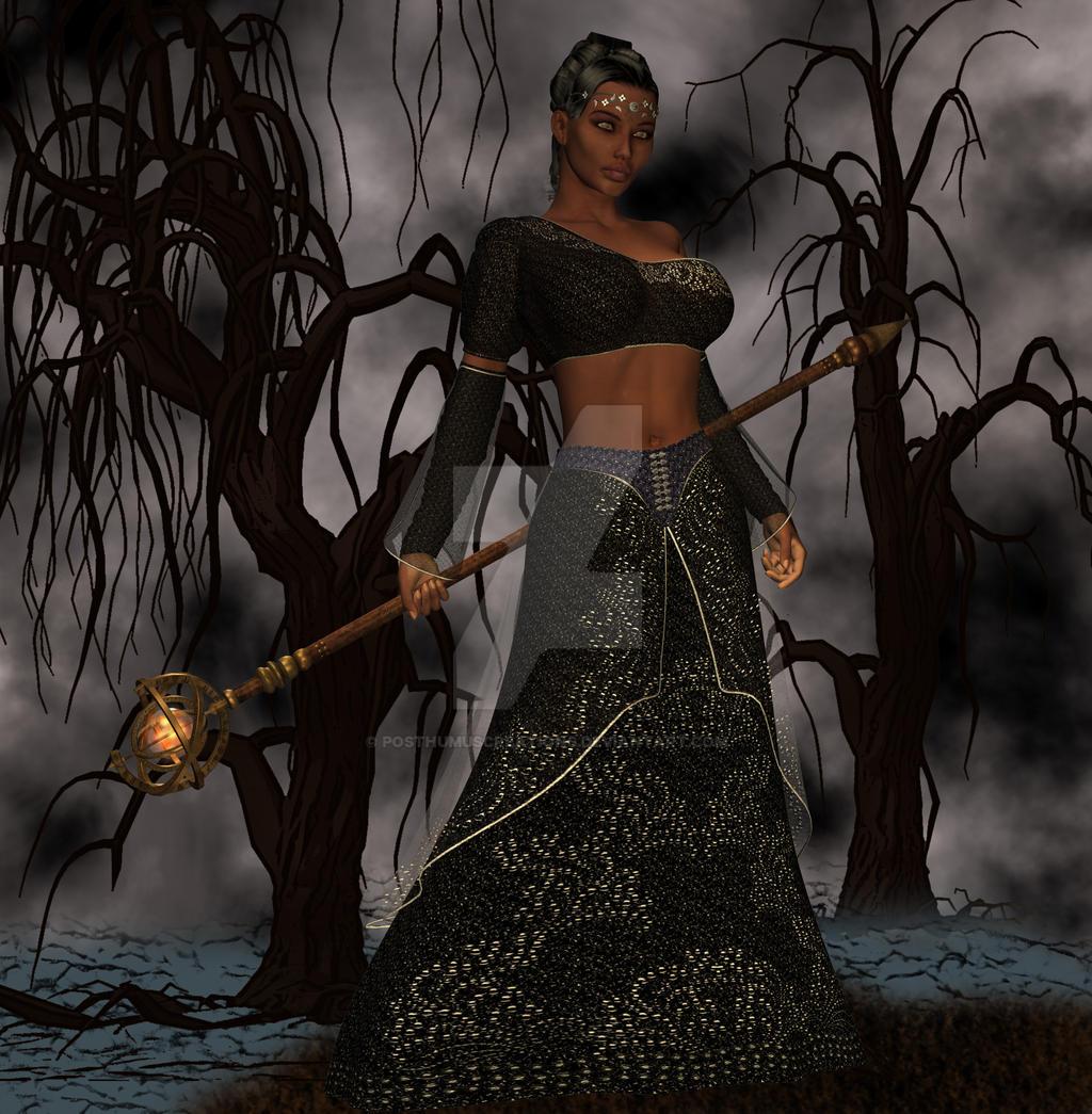 Voodoo Priestess by PosthumusCreations
