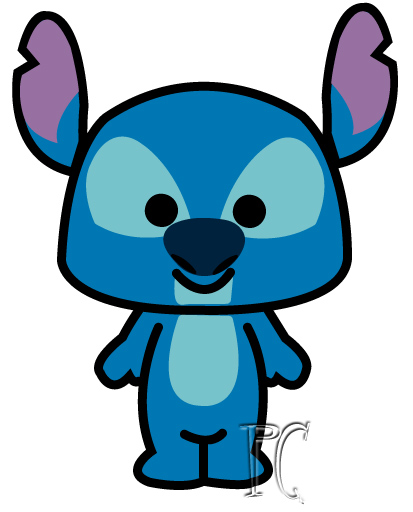 disney cuties coloring pages stitch - photo#29