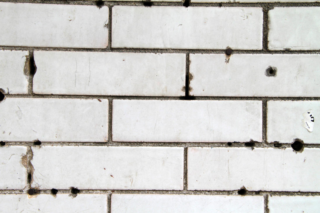 White Ceramic Tile Wall by RocketStock