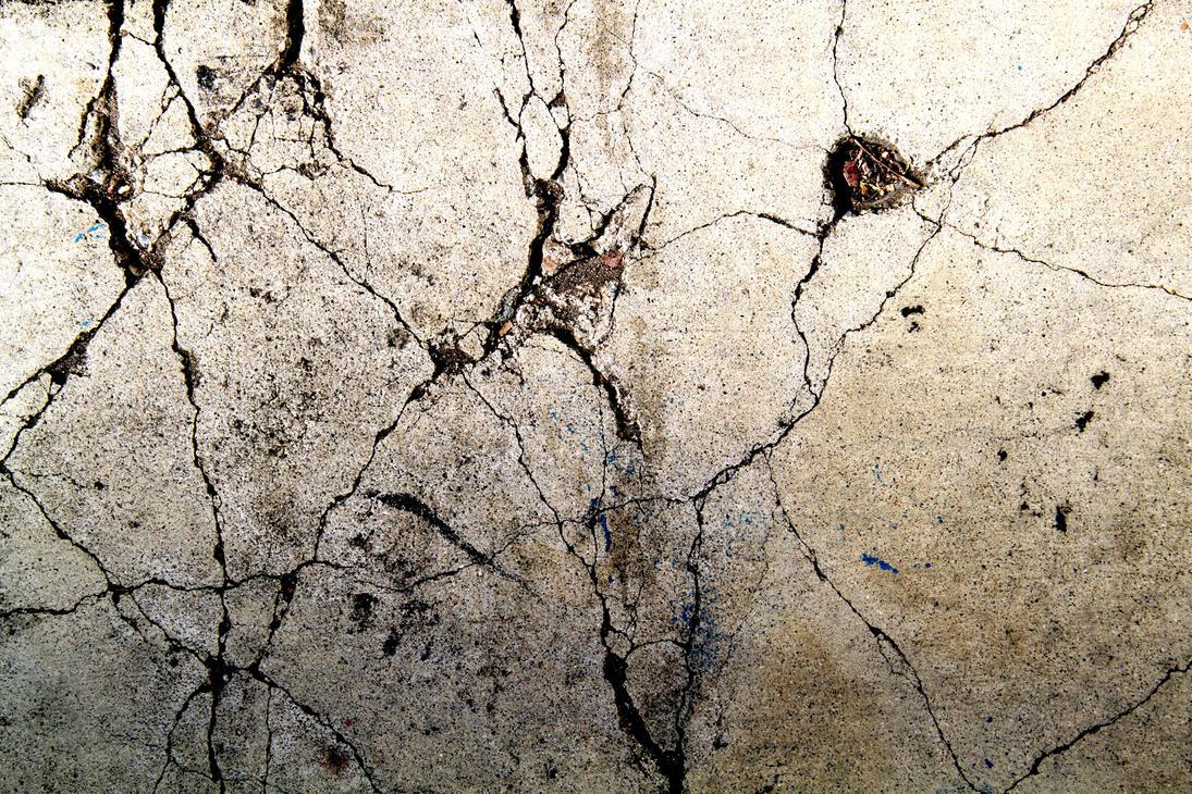 Cracked Concrete 01 by RocketStock on DeviantArt