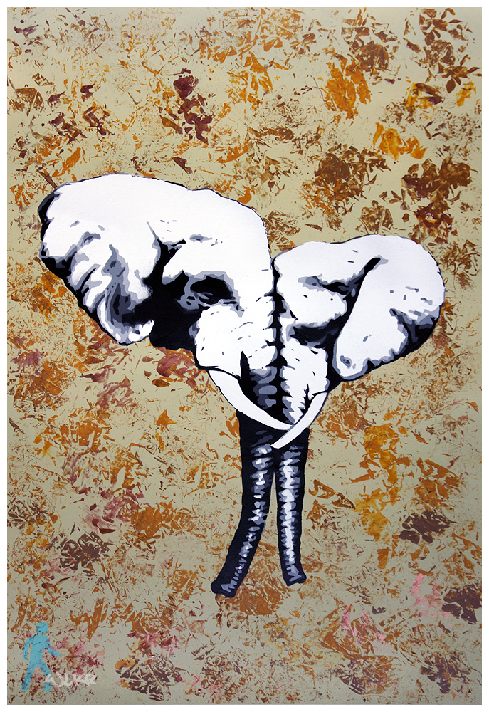 Elephants by wlkr