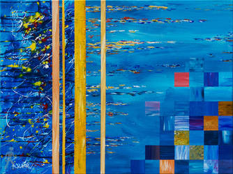 Untitled (blue #2) by wlkr