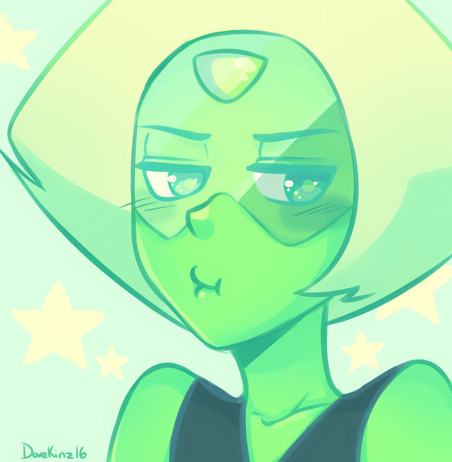 Trying to force myself out of this art block so I doodled a gem