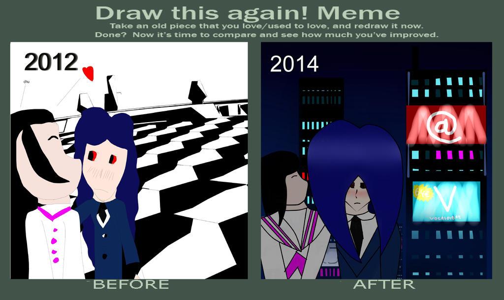 Draw this again MEME by OganOzkul
