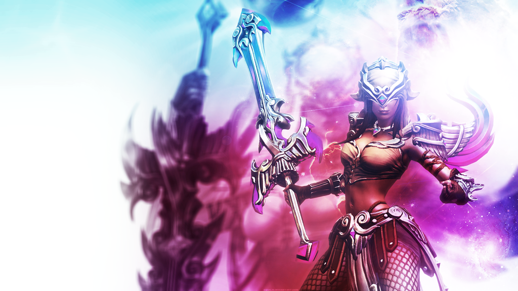 Smite - Nemesis Wallpaper  1920x1080  by EquilibFreya Smite Wallpaper