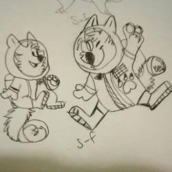 Furry Astronauts