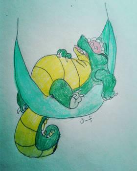 Snoozing Gator