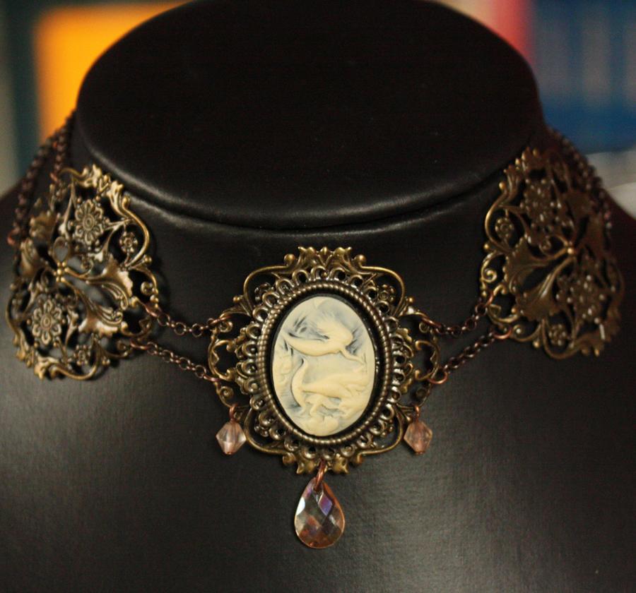 nakit -ukras ili umetnost - Page 2 White_mermaid_necklace_by_pinkabsinthe-d2yn6dw