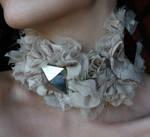 Cream victorian collar