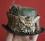 Dusty Gold Steampunk Hat