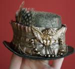 Dusty Gold Steampunk Hat
