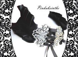 Neck corset by Pinkabsinthe