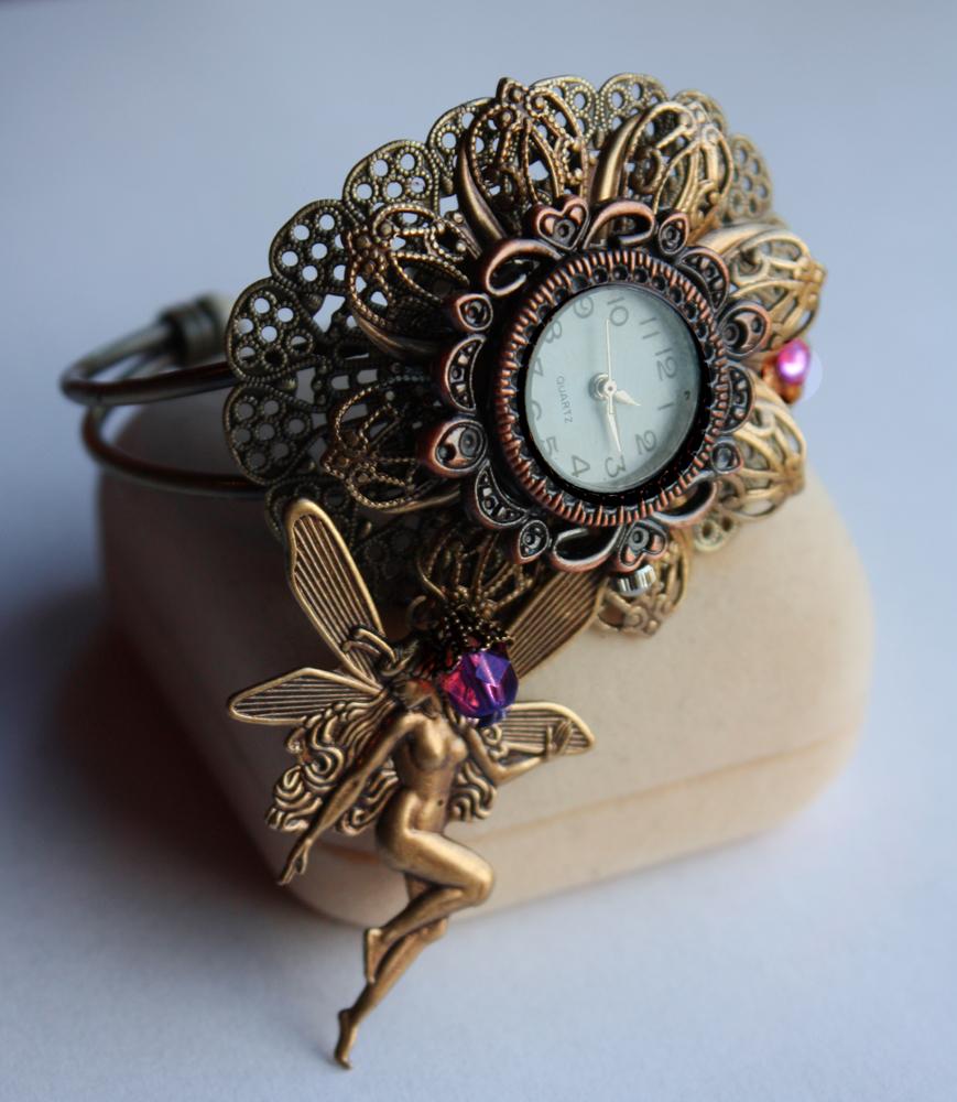 Gothic watch cuff