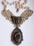 Steampunk Cherub Necklace