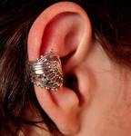 Unisex steampunk earcuff