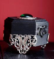 Gothic jewelry box by Pinkabsinthe