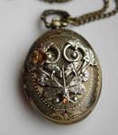 Fantasy pocket watch necklace