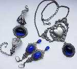 Sapphire blue set