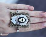 Skull gears ring