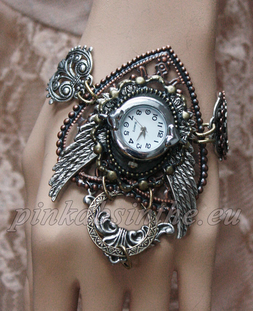 Steampunk watches dis.2013 I by Pinkabsinthe