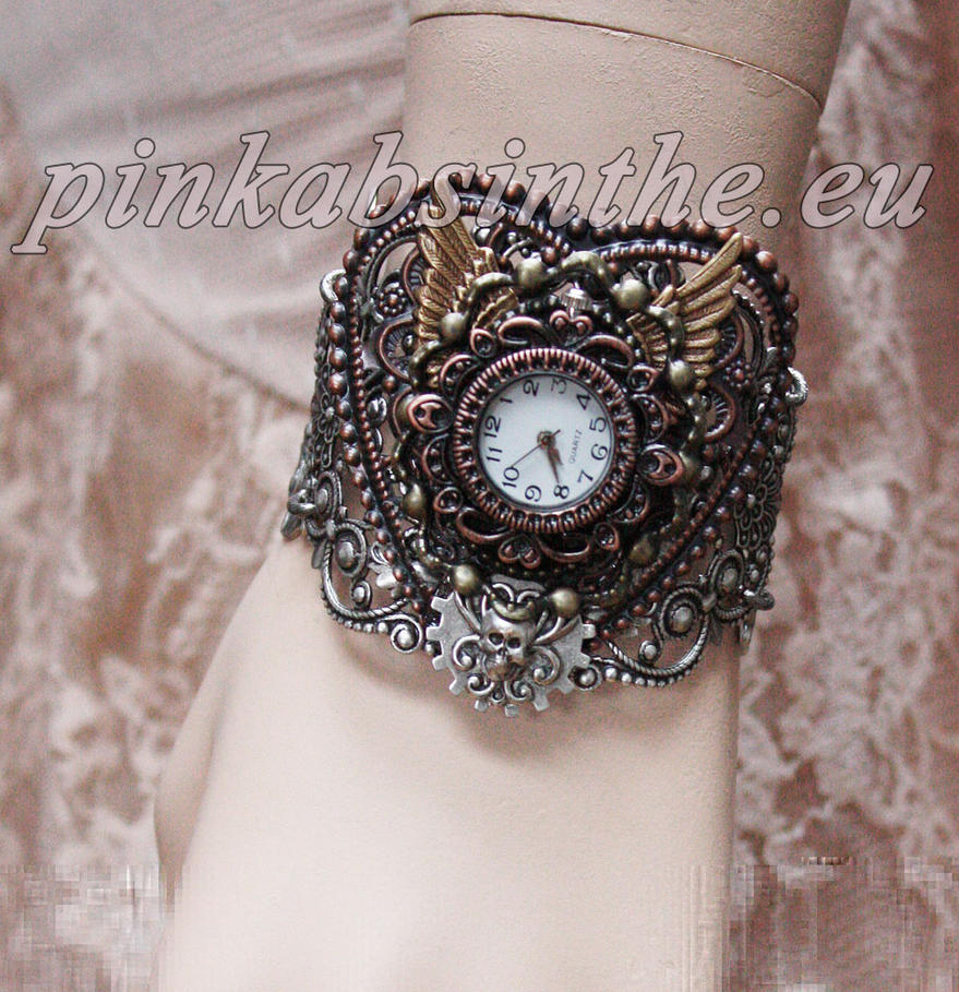 Steampunk watches dis.2013 IV by Pinkabsinthe