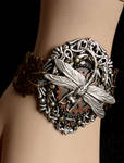 Dragonfly gears bracelet dis.2013 I