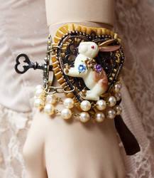 Down the Rabbit Hole bracelet II by Pinkabsinthe