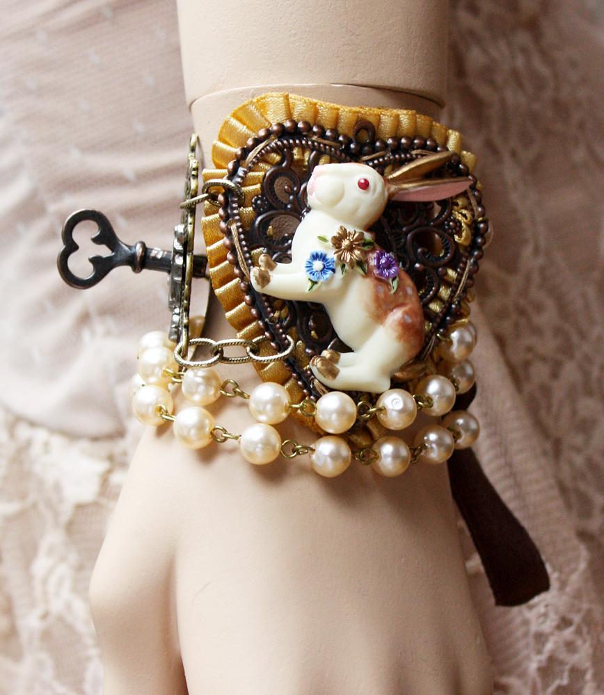 Down the Rabbit Hole bracelet II