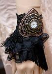 Retro Glamour gothic watch cuff I