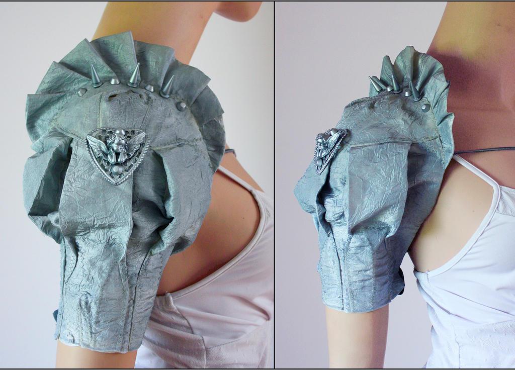 Cherub Armor styled sleeve by Pinkabsinthe